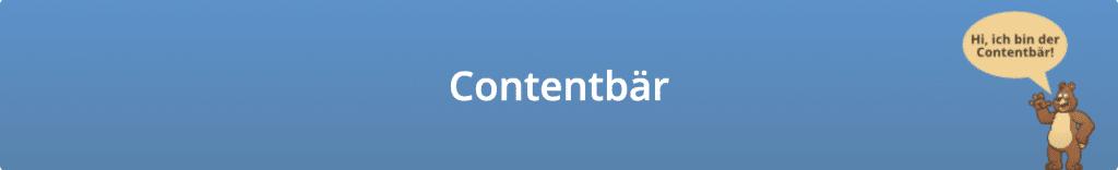 "Grafik vom Veranstalter SEO Vergleich zum Keyword ""Contentbär"""