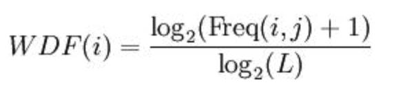 Die WDF Formel